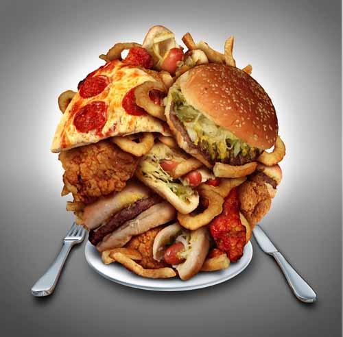 膝に良くない外食習慣