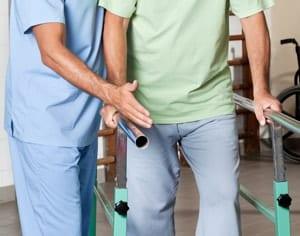 膝蓋骨骨折のリハビリ