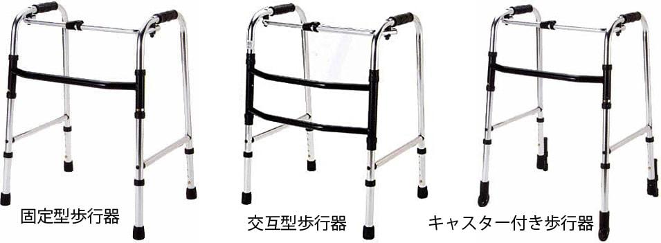 変形性膝関節症に使う歩行器